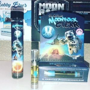 moonrock-clear, thc oil cartridge